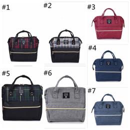 Wholesale Bags Mom - Functional Mom Bag Waterproof Mummy Tote Bags Top Quality Oxford Diaper Shoulder Bag Brand Mother Handbags Men Duffel Bags YYA1295