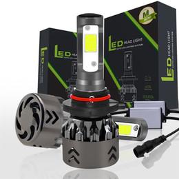 Mini6 набора фары Сид удара обломока IP68 Сид фары лампа набор H4 Н7 Н8 9005 9006 высокой и низкой автомобильные светодиодные преобразования комплект 12V для замены галогеновых ламп от Поставщики комплект галогенных фар