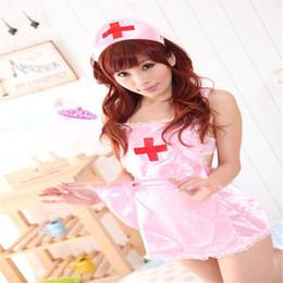 Enfermeiras adultas uniformes on-line-Sexy lingerie sexy enfermeira avental terno pijama uniforme tentação casal flertar adult sex toys