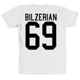 Dan Bilzerian 69 Bella + Canvas T-Shirt T-Shirt aus Jersey Bart The Man Back Print Herren 2018 Modemarke T-Shirt O-Neck 100% Baumwolle von Fabrikanten