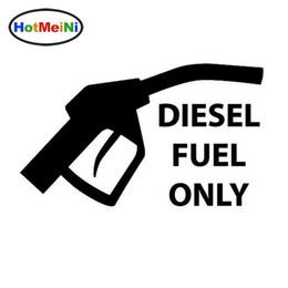 Körper grafik autos online-Interessanter Dieselkraftstoff nur für den Autoaufkleber, der schwarze / silberne Vinyldekorations-Grafik warnt