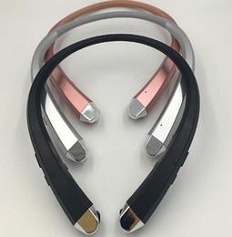 HBS910 TONE INFINIM aggiornamento Versione HBS900 Wireless HBS 910 Cuffia con colletto Bluetooth 4.1 Cuffia sportiva HBS910 con confezione Retail 2018 da colletto bluetooth fornitori