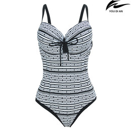 Wholesale Russian Suit - New plus szie swim suit women large size swimear Russian swimsuit swimming wear beachwear 2XL to 5XL