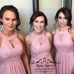 Rabatt Hochzeitskleid Rosa Vintage Linie 2018 Hochzeitskleid Rosa