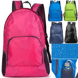 Nueva mochila plegable impermeable al aire libre Camping Senderismo Mochila de gran capacidad Bolsa de viaje ultraligera Nylon multicolor de calidad superior desde fabricantes