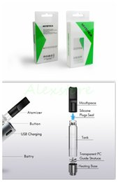 Wholesale Silicon Stocks - In Stock! Mystica Vaporizer V11 Oil BUD Starter Kit 650mah Battery Box Mod Vape Pen Cartridges With G2 Atomizer Mini Tank Magnetic 5 Colors