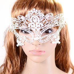 сексуальная маска продажа Скидка NEW sell 1Pcs Halloween Masquerade Sexy Lady Lace Mask for Party