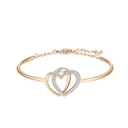 Shop easter gifts for girlfriend uk easter gifts for girlfriend easter gifts for girlfriend uk fate love romantic double heart s925 silver plating rose golden negle Image collections
