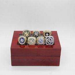 Wholesale ring quartz - NEW YORK WORLD SERIES 1977 1978 1996 1998 1999 2000 2009 BASEBALL CHAMPIONSHIP RINGS FOR Fans