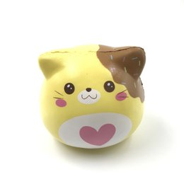 Wholesale Souvenirs Toys - Original puni maru marshmallow kittens squishy cookie scent soft and slow rising squishy toy gift collection souvenir