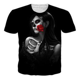 0b83ecdb18695 2018 New Fashion 3D T-Shirt Men Brand T shirt Casual Sexy Unisex Tattoos  Skull Print Hip Hop Tops Tee Shirt Camisetas Hombre