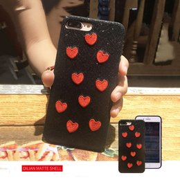 Wholesale Denim Phone Cases - For iPhone7 8 8plus 7plus Lovely animal embroidery case Fashion TPU denim cell phone shell Ditambah iPhone6 6plus
