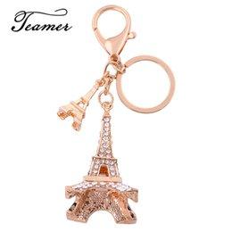 Teamer 3D Cristal Porte-clés Meilleur Cadeau pour Clés Souvenirs Tour Eiffel Porte-clés Décoration Sac Bourse Porte-Clé Charme HYKC101034 ? partir de fabricateur