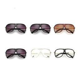 Wholesale Women Suits Designs - Big Frame Eyeglasses Suit Many Face Fashion Design Sun Glasses For Men And Women European Style Modern Sunglasses Star Favor 20fd Z