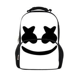b6dfb261eec7 Новые женские рюкзаки Сумки для школьников Marshmello для подростков  Девушки для мальчиков Стильная детская сумка для дам Сумка для путешествий  Студенческая ...