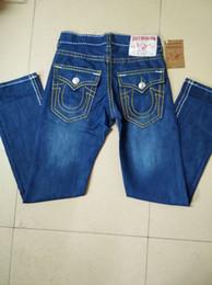 Argentina True Religious Jeans Robin Fashion Men Jeans Casual Denim Straight Elasticity Pants Cheap Diseñador de alta calidad Classic Male Short Jean cheap cheap high quality jeans Suministro
