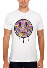Acid Dripping House Party Rave Peace Men Women Vest Tank Top Unisex T Shirt  2073 custom printed tshirt fc552f484