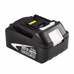 Batterie per makita online-Freeshipping BL1860 18 V ricaricabile agli ioni di litio 6.0Ah Battery Power Tool Pack di ricambio per MAKITA BL1860 Alta qualità !!!