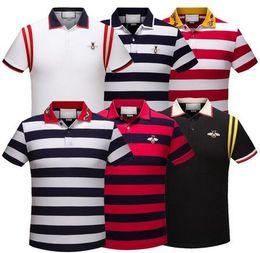 Wholesale T Shirt Design Army - 2018 polo shirt fashion Short Sleeve polo t shirts men tee design printing poloshirt clothes polos tops
