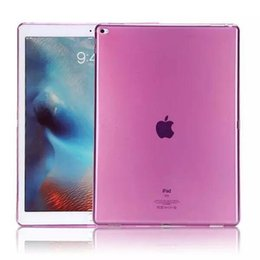 Wholesale Gel Case Ipad Mini - New TPU Case for ipad 2 3 4 mini air2 pro 2017 ipad 9.7 10.5 12.9 solid color tpu skins protector Cover case colorful gel cases Shell GSZ222