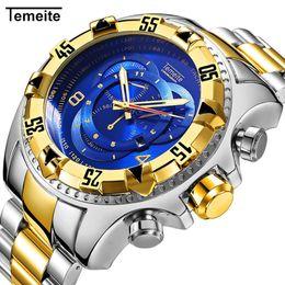 3cf80c93cd7 Pc invicta relógios para luxo marca homem relógio de pulso de aço relógio  de movimento trazer noctilucentes à prova d  água de quartzo casual sport  frete ...