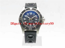 Wholesale Superocean Strap - Luxury brand SUPEROCEAN II Automatic 44mm mens watch curved Anti glare Sapphire Crystal rotating bezel rubber strap men's watches