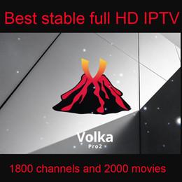 Canada Abonnement Volka Iptv Français Arabe Africaine 1800 chaînes 2000 films 1 an pour Android Box / M3U / Enigma2 cheap african movies Offre