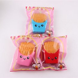 Wholesale cartoon chips - new PU chips squishy cartoon soft slow rebound simulation Siwan toys factory