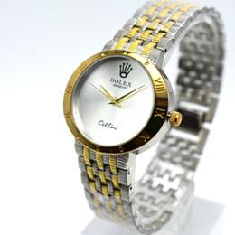 6bdd79f7e84 Simples diamante 36mm subiu marca de quartzo de aço inoxidável de ouro aaa  mulheres de luxo relógios atacado analógico mulheres vestido de designer  relógio ...