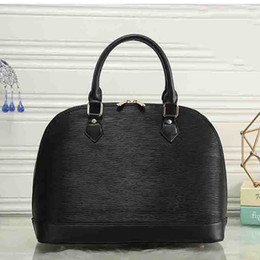 Wholesale Shell Wedding Bag - women shell bag famous brands EPI leather tote bag ladies wedding bag fashion handbags top-handle bags 2018 female purse