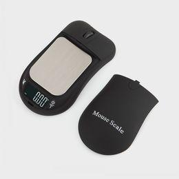 2019 escamas de mouse Criativo Mouse MINI Balança Eletrônica 100gx 0.01g 200gx0.01gBacklight Módulo de Alta Precisão Escala de Jóias Digital de Bolso escamas de mouse barato