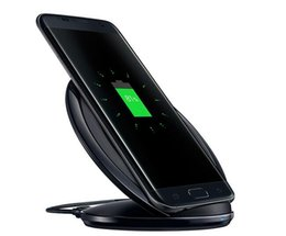 Cargador inalámbrico rápido QI Soporte de soporte inalámbrico Pad para Samsung Galaxy S7 Edge S6 Edge Plus Note 5 Samsung s8 s8 + desde fabricantes