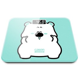 Wholesale electronic body weight scale - GASON A3s USB Charging Scales LCD Digital Display Weight Weighing Floor Electronic Smart Balance Body Household Bathrooms 180KG