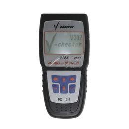 Wholesale Toyota Canbus - V-CHECKER V302 VAG Professional CANBUS Code Reader obd2 OBD2 Auto Scanner Adapter Scan Tool Vehicle Tools Code Readers & Scan Tool