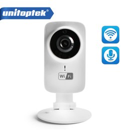 Wholesale Home Security Android - HD 720P Mini Wifi IP Camera Home Protection Wireless Baby Monitor 1.0MP CCTV Camera Security iPhone Android P2P Remote Cam