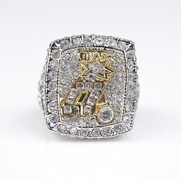 Wholesale Ice Hockey Jewelry - Newest Men fashion sports jewelry 2014 Spu rs championship ring ice hockey fan sports collection souvenir gift size11