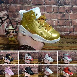 sports shoes 49648 3a53b Nike air Jordan 6 12 13 retro 6 karminrote Basketballschuhe Kinder 6s UNC  schwarz blau weiß Infrarot Jungen Mädchen oreo schwarze Katze Sportschuhe  große ...