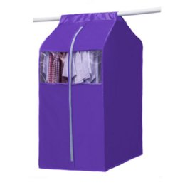Wholesale Suit Dust Covers - Garment Bag Wardrobe Storage Bag Hanging Cloth Organizer Large Capacity Cloth Hanging Suit Coat Dust Cover Clothes Protector