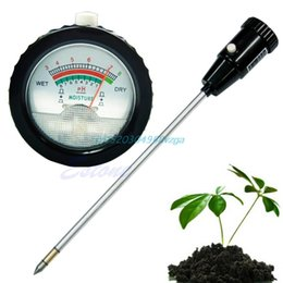 Wholesale Hydroponics Ph Meter - Soil PH Moisture Meter Tester Hydroponics Analyzer Long Water Quality Plants #H028#