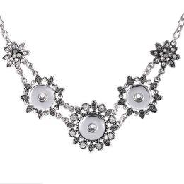 Chiusure per gioielli online-designer gioielli fiori ciondolo collana fiori chiusura pendente collana per le donne semplice classico caldo moda spedizione gratuita