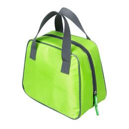 Canada 2016 poignée en plein air sac de pique-nique imperméable à l'eau de conservation de la chaleur sac à lunch sac isotherme double fermeture à glissière cheap air heating cooling Offre