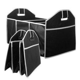Lagertank online-NEU Faltbare Auto-Aufbewahrungsbox Kofferraumtasche Fahrzeug-Werkzeugkasten Mehrzweckwerkzeuge Organisieren Sie die Tasche im Kofferraum von Autos für das Auto-Styling