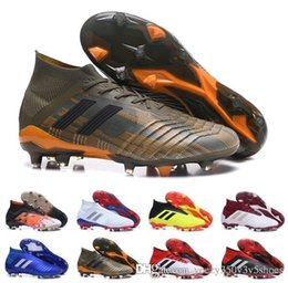 aab5e2eab699 ACE 16+ PureControl FG AG Soccer Shoes Laceless Football Shoes  factory  price Mens 2018 Messi Predator Telstar 18+ FG Boys Girls Soccer Cleats  Chaussures De ...