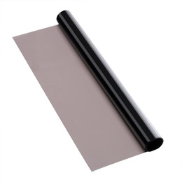 Wholesale Cars Windshield Shade - 300*50cm Toning of Car Glass Car Sun Shade Anti-UV Insulation Gray Tint Film Window Sunshade Rear Windshield Tinting Curtain