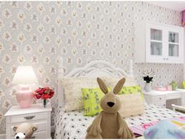 Papéis de parede de tecido não-tecido para Kid's Room Home Decor em 6 cores sólidas 0.53 * 10m por rolo frete grátis de Fornecedores de tamanho da imagem da escola