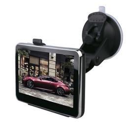 """2019 subaru russia Katarina 4.3 """"polegadas TFT-LCD Touch Screen 8 GB Carro Navegador de Navegação GPS com Multimedia Player / Rádio FM / TF Slot"""