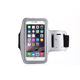 Wholesale Neoprene Sport Arm Bands - Applicable to iphone 7 plus waterproof shockproof arm bag outdoor sports running arm cover phone arm band mobile phone cover