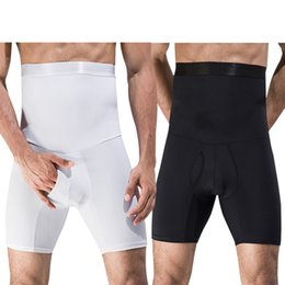 48070905b1 Men s High Waist Shaping Pants Shaper with Boxer Brief Pants Trainer  Bodysuit Contour Body Shaper Strong Shaping Slim Fit Underwear