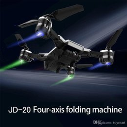 Wholesale Hold Camera - JD-20 Mini RC Drone 4-Axis 2.4GHz 720P HD Wi-Fi Camera 3D Roll 120° Angle Headless Mode Selfie Pocket Smart Altitude Hold Hover Drone