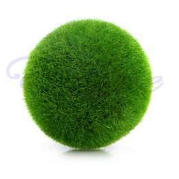Simulazione artificiale all'ingrosso di modo delle palle fresche del muschio delle piante verdi della decorazione domestica del partito supplier wholesale green moss da muschio verde all'ingrosso fornitori